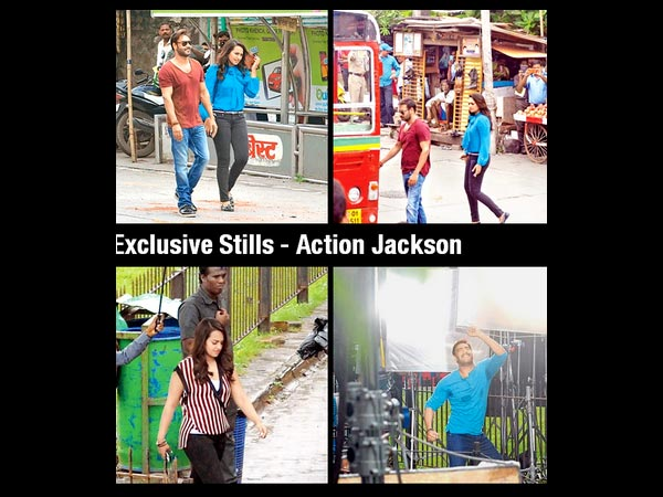Stills From Action Jackson