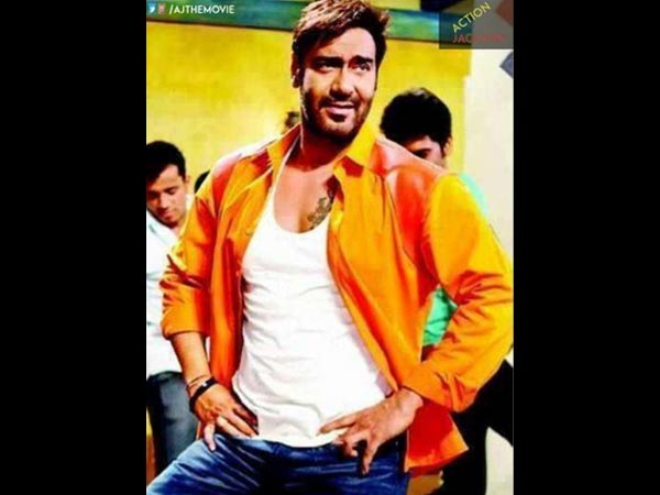 Ajay Devgn's Different Look