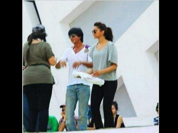 SRK With His Heroine