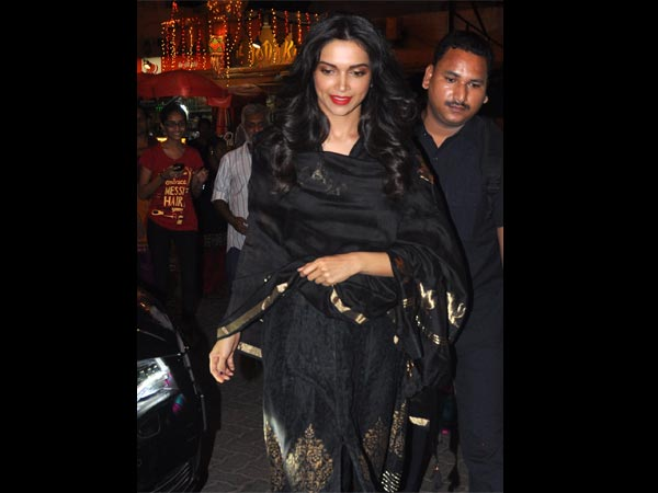 Deepika In Black
