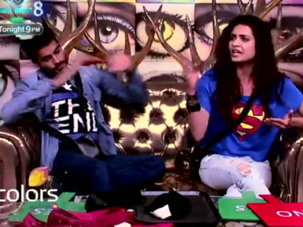 Karishma's Reaction