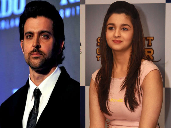 Alia Bhatt: I Would Like To Get Naughty With Hrithik Roshan