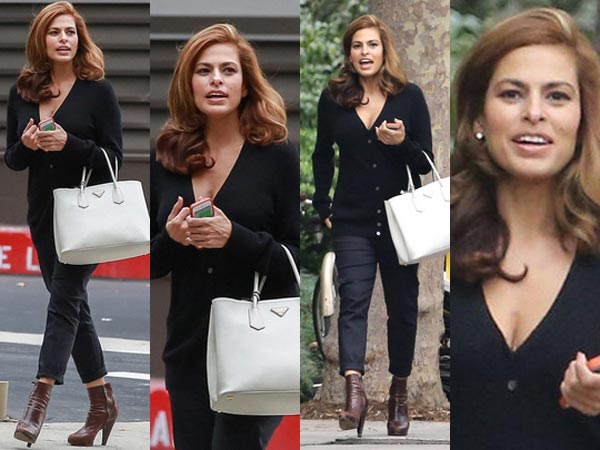 Eva Mendes Gives First Appearance Post-Pregnancy