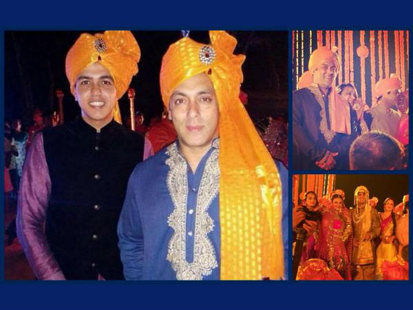Pic: Salman Khan Attends Pulkit Samrat's Wedding