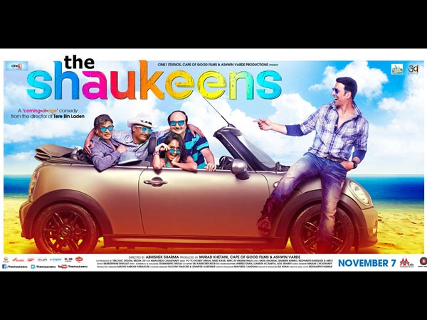Shaukeens And Akshay