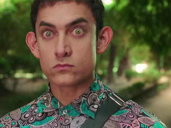 Aamir's Unique Look
