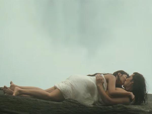Love Making Under Waterfalls