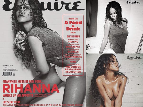 After Elle, Rihanna Strips For Esquire Magazine