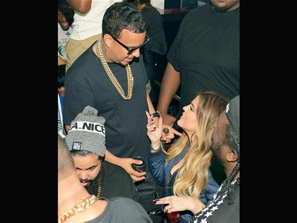 French Montana, Khloe Kardashian Are Back & Grinding!