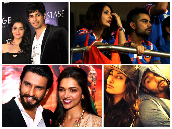 Real Life Bollywood Couples - Dating and Not Accepting