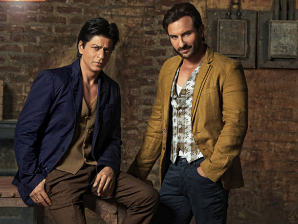 Saif Ali Khan Never Wants To Work With Shahrukh Khan Again!