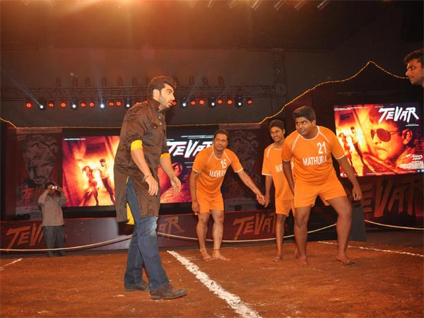 Arjun Playing Kabaddi