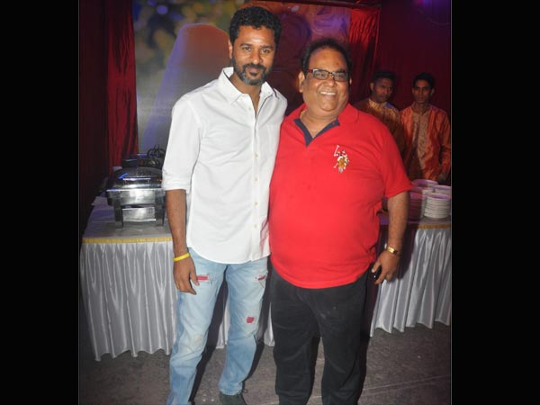 Prabhu Deva And Satish Kaushik