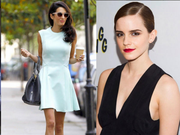 British Style Award 2014: It's Amal Clooney Vs Emma Watson