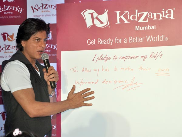 Shahrukh's Pledge