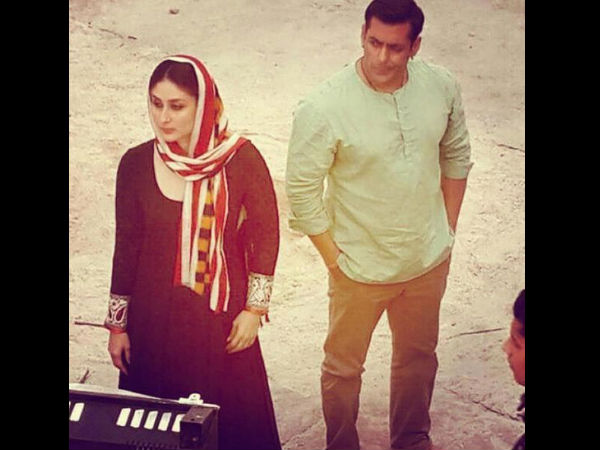 Sallu Bhai With Kareena