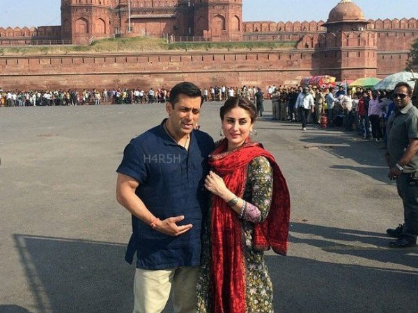Sallu Bhai With Bebo