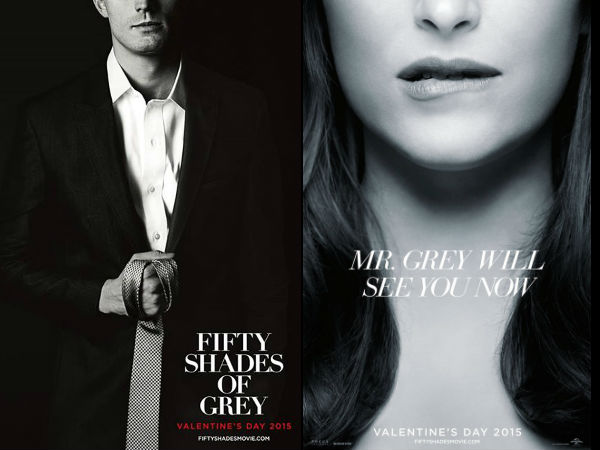 Fifty shades of grey new posters starring christian grey for 50 shades of grey films