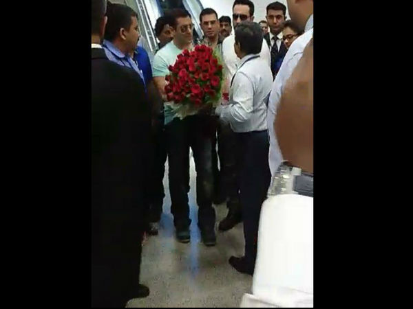 Hyderabad Welcomes Sallu Bhai