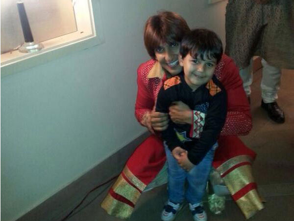 Ranveer Singh With Another Kid