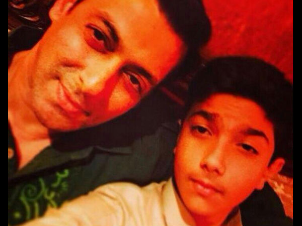 Salman With Sohail's Kid