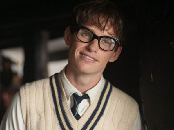 Eddie Redmayne for The Theory of Everything