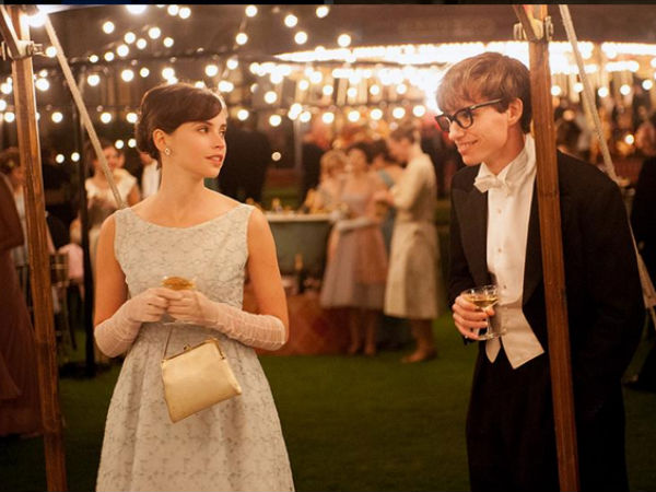 Felicity Jones for The Theory of Everything