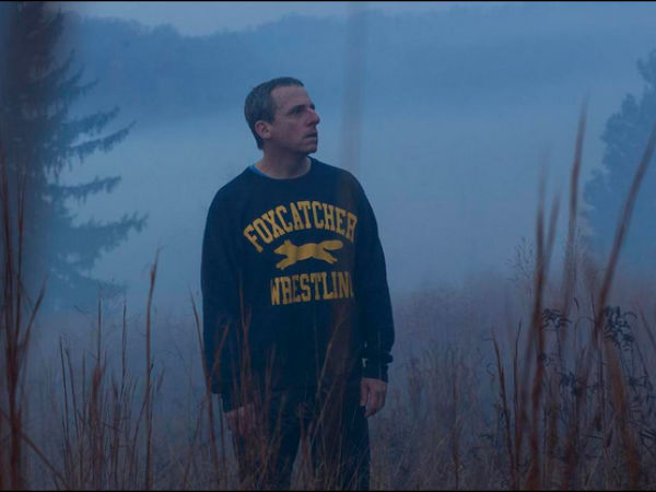 Steve Carell for Foxcatcher