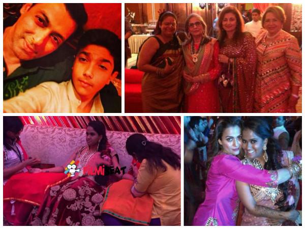Arpita Mehndi Ceremony : Pics salman s sister arpita khan mehendi and sangeet