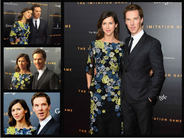 Benedict Cumberbatch's Red Carpet Debut With Fiance, Sophie Hunter
