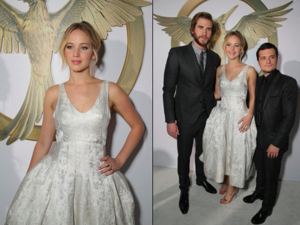 Jennifer Lawrence Attends Mockingjay- Part 1 LA Premiere