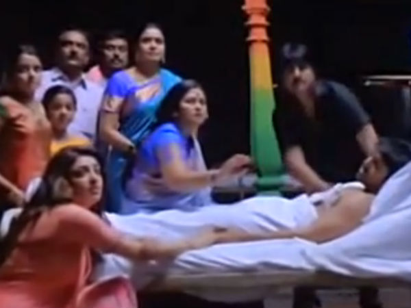 The Emotional Climax Scene OF Govindudu Andarivadele
