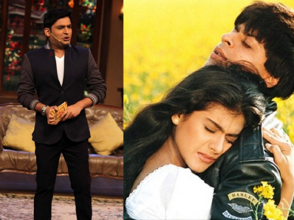 Shahrukh Khan And Kajol To Celebrate DDLJ On Kapil Sharma's Comedy Nights!