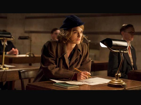 Keira Knightley for The Imitation Game