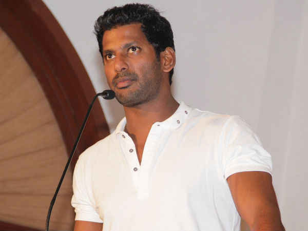 OMG! Vishal Terms Sarath Kumar's Warning As Fake!