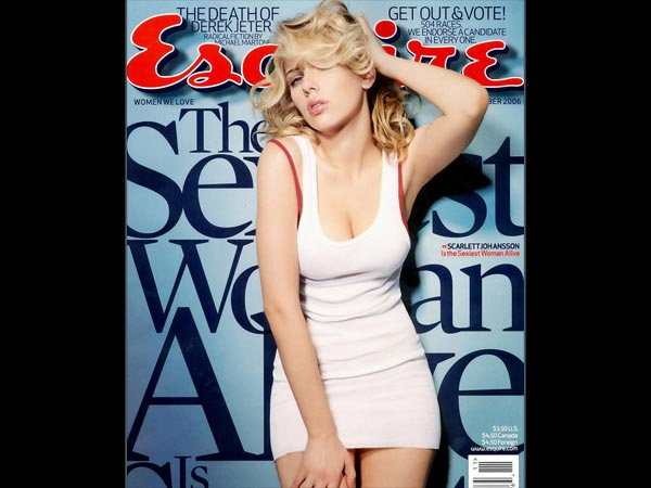 Esquire's Sexiest Woman Alive