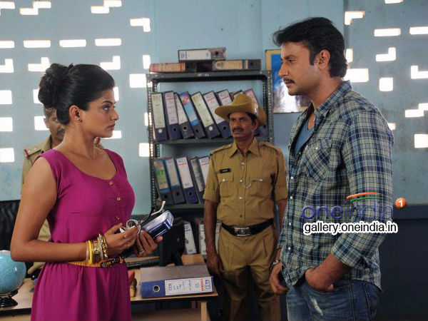 Ambareesha's Dialogues Does The Magic
