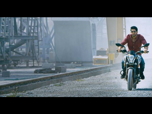 First Look of Naga Chaitanya From Upcoming Movie -Sudheer Varma