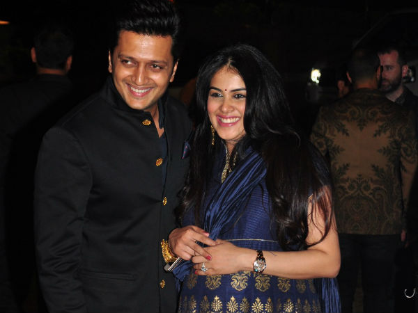 Riteish Deshmukh, Genelia D'Souza Blessed With Son
