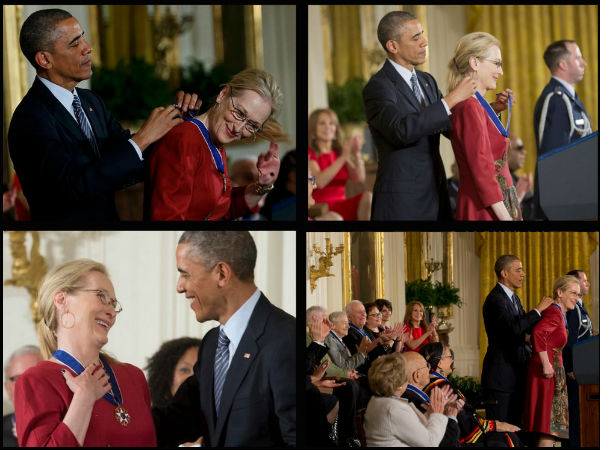 President Obama Honors Meryl Streep, Says