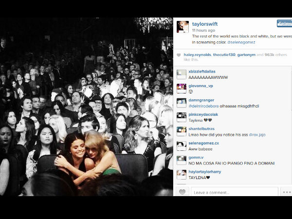Taylor Swift Shows Friendship To Sad Selena Gomez