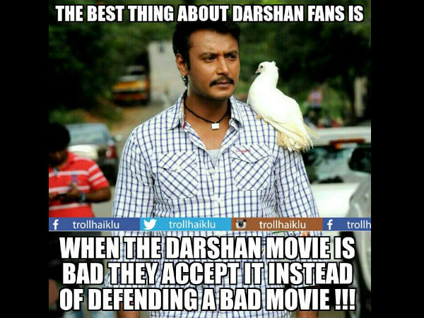 Darshan Fans are sportive!