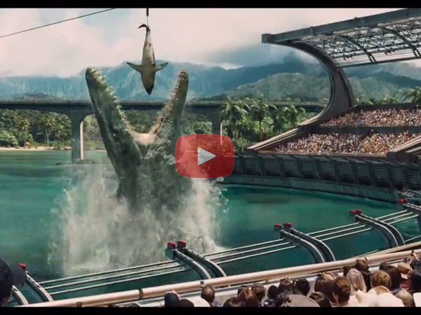 'Jurassic World' First Trailer Out Days Before Thanksgiving