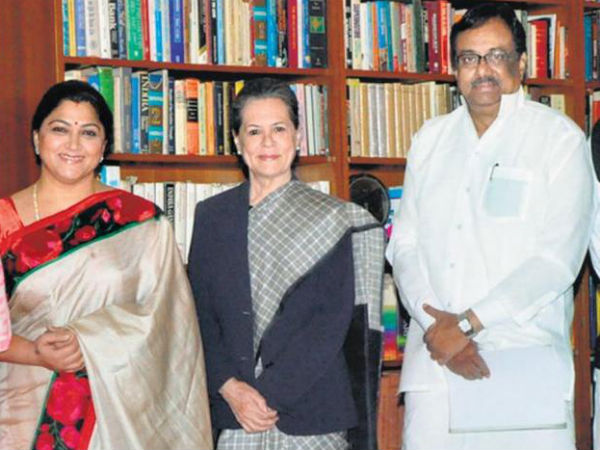 Kushboo Joins Congress, Surprises Everyone!