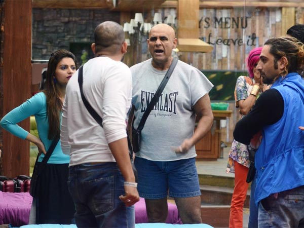 Bigg Boss 8's Puneet Issar Gets A Final Warning From Bigg Boss