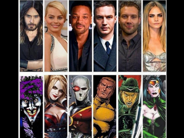 Official Cast of 'Suicide Squad' Announced