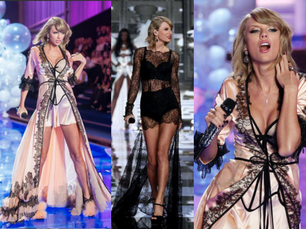 Victoria's Secret Fashion Show 2014: Taylor Swift Performs In Lingerie