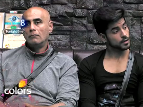 Puneet And Gautam Punished