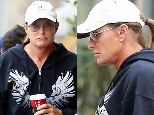 Bruce Jenner Shows Neat Ponytail, French Manicured Nails!