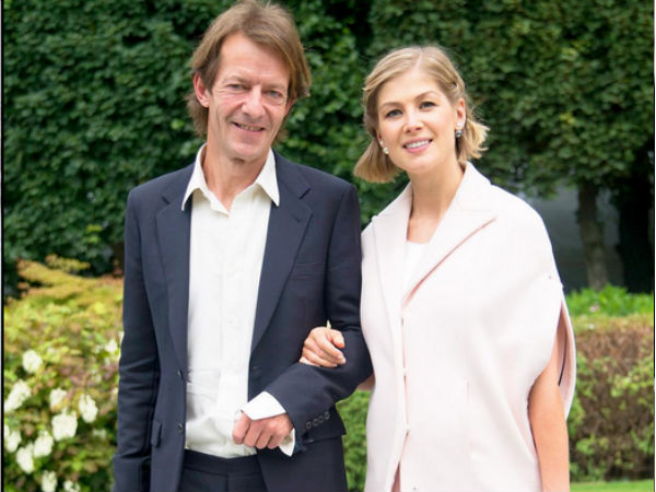 Rosamund Pike Welcomes Her Second Son With Uniacke